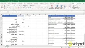 Excel'de saatlere, saat, dakika, saniye eklemek. Zaman işlevi