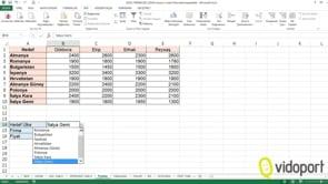 Excel'de İndis ve Kaçıncı işlevleri nasıl kullanılır?