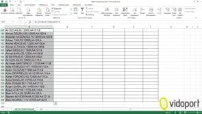 Excel'de Metin Fonksiyonlarının kullanımı nasıldır?