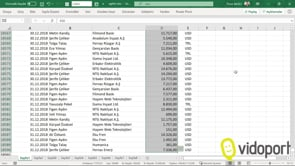 Excel'de Seçme ve Seçili alanı bozmadan, seçim ekranına gelme yöntemleri nelerdir?