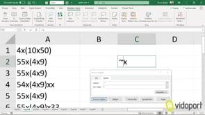 Excel'de Joker karakter * işaretini Değiştir penceresinde kullanmak