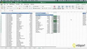 Excel for MAC'de Pivot Tablo'lar ile satış raporu oluşturmak