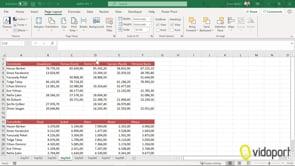 Excel'de Freeze Panes- bölmeleri dondurma, başlıkları sabitleme nasıl yapılır?