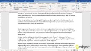 Excel Grafiklerini Belgelerin İçine Eklemek