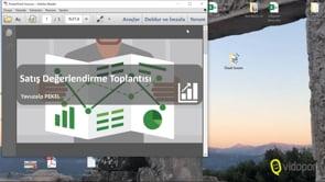 PowerPoint'te Tek Slayt'ı PDF Kaydetmek