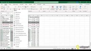 Excel'de Kenarlıklar ile çalışmak