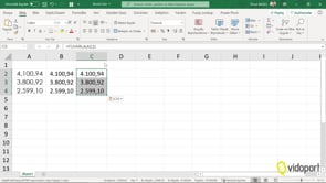 Excel'de Kuruş Hanelerini iki kuruş olarak sabitlemek
