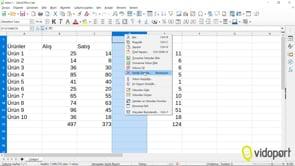 Calc Programını Kullanmak ve Hesaplama Yapmak