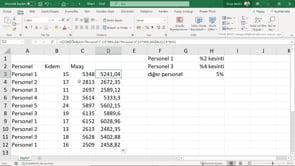 Excel'de ÇOKEĞER İşlevini nasıl kullanırız.