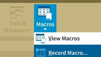Excel Makrolar İle Çalışmak