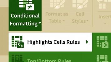 Excel Koşullu Biçimlendirmeleri Kullanmak